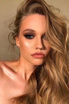 30 Dreamy Boho Wedding Makeup Looks ❤ boho wedding makeup fox eyes bronze gold tones veronika_belyanko #weddingforward #wedding #bride #weddingmakeup #bohoweddingmakeup