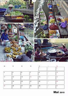 Das bunte Leben in Thailand - CALVENDO  facebook.com/kroenchens.welt.fotografie