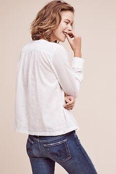 Gélise botón de la blusa - anthropologie.com