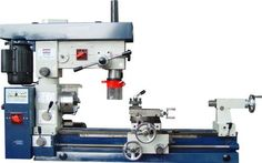 """Bolton Tools 12"""" X 30"""" Combo Lathe Mill, Seperate 3/4 Hp Lathe & Mill Motors, 1"""" Spindle Bore , 110 or 220 Volt Setup - List Price: $2,099.00 - Now available At $1,850.00"""