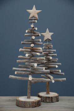 Dřevěný dekorativní stromeček 64cm | Bella Rose