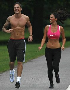 The Best Pics Of Fitness Couples & Bodybuilding Couples: People without a workout partner beware! We've collected some of the best pics of fitness couples living and lifting together. Mark Wright, Interview, Couple Training, Fitness Goals, Fitness Tips, Extreme Fitness, Fitness Memes, Workout Fitness, Couples Who Workout Together