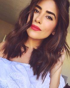 Bold lip   Ciate Velvet Lip Slick in Risqué   Beauty of the Day