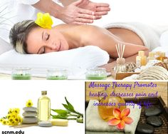 #Massage has been used for centuries to promote #healing, reduce #stress, and even for recreation. #SCNM