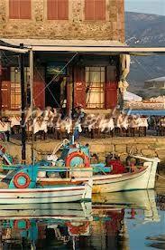 Lesvos: Molyvos fishing port detail