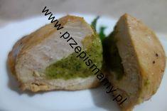 Filet z indyka faszerowany brokułem