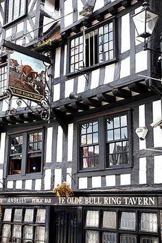 Ye Olde Bull Ring Tavern Ludlow Shropshire England by © Mark Sunderland www.marksunderland.com on Flickr