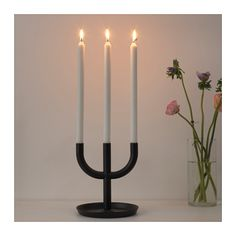 ENIGHET Candlestick for 3 candles  - IKEA