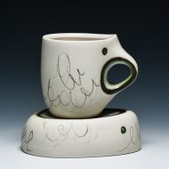 6 days until : Source Material - An Exhibition on Water and the Ceramic Cup November 1st   www.crimsonlaurelgallery.com