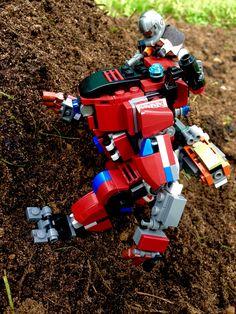 Lego Titanfall 2. Monarch-class titan, expedition loadout. Lego Titanfall, Lego Mechs, Lego Models, Lego Stuff, Legos, Man, Nerf, Funny, Design