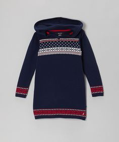 Take a look at this Navy Blue Sweater Dress - Infant & Toddler on zulily today!