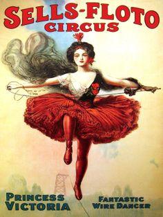 Ballet , Circus Poster