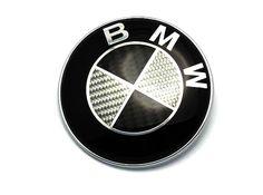 Vsl Performance Carbon Fiber Trunk Emblem BMW E46 3 Series Sedan/Coupe & E90 Sedan