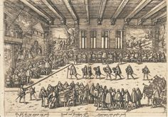 Etching of the wedding banquet held for the parents of Anne of Cleves, John III, Duke of Cleves and Maria of Julich Berg. Anne Of Cleves, Anne Boleyn, Ancient History, Art History, King Henry Viii, Elizabeth I, Italian Renaissance, 15th Century, King Queen