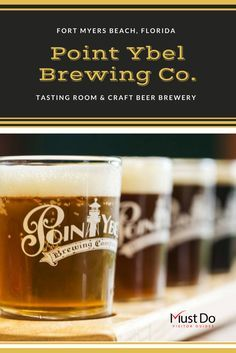 Enjoy a pint or two at this small batch Fort Myers Beach, Florida craft brewery and tasting room specializing in Pale Ales and IPAs. Brewery and tasting room, Hurricane Hole, is open 7 days a week. #florida #vacation #craftbeer #brewery #bars #fortmyersbeach #ftmyersbeach