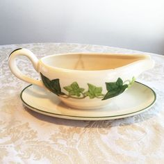 Vintage Franciscan Ware  Ivy Gravy Boat by vintagepoetic on Etsy