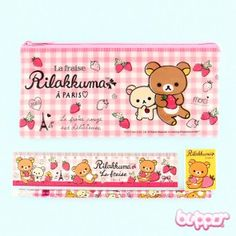 Rilakkuma in Paris Stationery Set