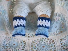 Free+Crochet+Baby+Shoes+Patterns | Baby Booties - Free Crochet Patterns for Baby Booties and Slippers