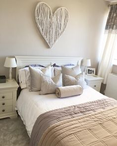 Chantilly White Bedroom Furniture from The Cotswold Company #bedroomdecor #bedroomideas #greybedroom #styleideas #homestyling #bedroominspo #homeinspo #homedecor #whitefurniture #cotswoldco