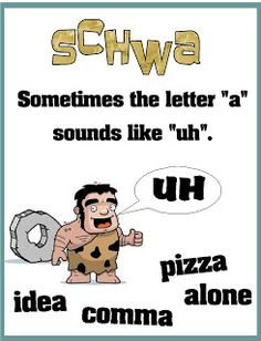 Teaching schwa -- Flash Freebie!!