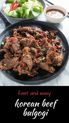 The Highest Three Chicory Espresso Manufacturers - Include A Novel Taste On Your Cup Of Joe Use Fast And Easy Korean Beef Bulgogi To Make Korean Bibimbap. Korean Beef, Korean Food, Korean Dishes, Sauce Recipes, Beef Recipes, Cheap Recipes, Fish Recipes, Bulgogi Recipe, Bulgogi Sauce