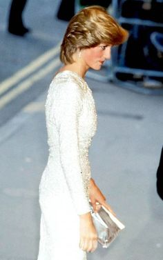 """June 6, 1983: Princess Diana at the premiere of the James Bond film, """"Octopussy"""" at the Odeon Theatre, Leicester Square."""