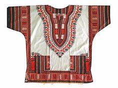 African Shirt Dress men women Dashiki print Hippie Style Caftan Unisex Tribal - Start from $0.19