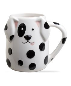 Spotted Dog Mug by tag #zulily #zulilyfinds
