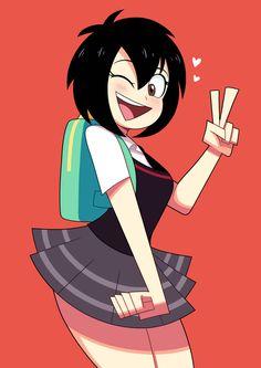 Peni Parker by AndroJuniarto on DeviantArt Cartoon As Anime, Thicc Anime, Chica Anime Manga, Girl Cartoon, Cartoon Art, Parker Spiderman, Spiderman Art, Kawaii Anime Girl, Anime Art Girl