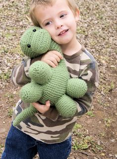 Crochet Brontosaurus by CrochetCityKC on Etsy