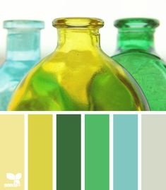 The perfect spring color palette Spring Color Palette, Colour Pallette, Colour Schemes, Color Patterns, Color Combos, Design Seeds, World Of Color, Mellow Yellow, Blue Yellow
