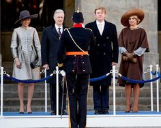 Upon the invitation of King Willem-Alexander and Queen Maxima, King Philippe and Queen Mathilde visit The Netherlands.