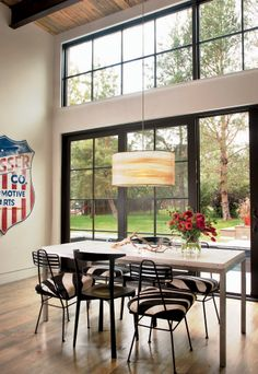 modern eclectic design by surround architecture - like black framed windows