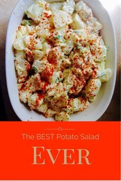 This is the best potato salad you will ever try! It is super simple to make and comes out perfect every time! For more recipes check out: www.onlygirl4boyz.com
