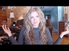Messy Beach Waves Tutorial...with a flat iron! I definitely need to try this.
