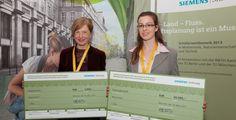 Schülerwettbewerb 2013 - Die besten vier Zukunftsplaner wurden für ihre…
