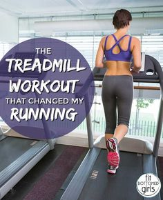 Even if you normally only rely on the treadmill in the event of bad weather, this is one treadmill workout you should add to your routine.