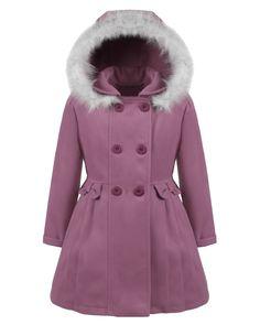 d324543976 Piękny płaszczyk z kapturem dla dziewczynki. Zobacz pozostałe modele na  blumore.pl