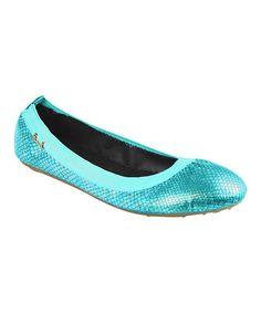 Blue Avalon Ballet Flat