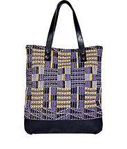 Missoni+Cotton+Leather+Tote+|+Bag
