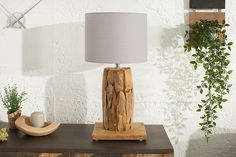 Recycling, Interior Decorating, Table Lamp, Lighting, Home Decor, Products, Environment, Rustic Style, Grey