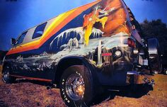 '70's Custom Van