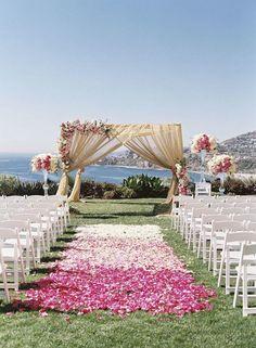 Wedding Ideas: 15 Flawless Wedding Ceremony Ideas - Caroline Tran