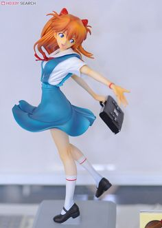 (PVC Figure) Other Clay Figures, Action Figures, Asuka Langley Soryu, My Moon And Stars, Dynamic Poses, Anime Figurines, Anime Dolls, Neon Genesis Evangelion, Drawing Poses