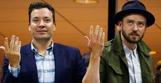 Justin Timberlake And Jimmy Fallon Did A Perfect, Brief Beyoncé Dance At The U.S. Open