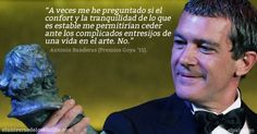 Inconmensurable discurso de Antonio Banderas para recoger el premio Goya de honor. Éxito, esfuerzo, motivación, gratitud, pasión y humildad en cada frase. Inmejorable.