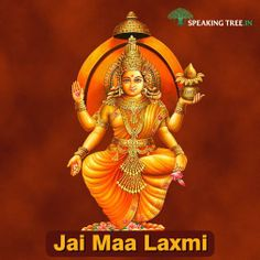 Goddess Laxmi is the supreme mother. Pray to her today for her blessings.