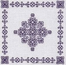 Cross Stitch Kits, Cross Stitch Charts, Embroidery & Tapestry Kits - Very Crafty Blackwork Cross Stitch, Blackwork Embroidery, Cross Stitch Borders, Cross Stitch Kits, Cross Stitch Charts, Cross Stitching, Cross Stitch Embroidery, Embroidery Patterns, Hand Embroidery