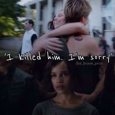Will and Christina, Divergent, Will''s death. Divergent Four, Tris And Four, Divergent Fandom, Divergent Trilogy, Divergent Insurgent Allegiant, Tris Et Quatre, Famous Phrases, Truth Serum, Percy Jackson Characters