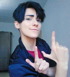 Hey baby, It's JJ style Jean-Jacques Leroy - Yuri! on ice Cosplayer - Haru Yuri On Ice, Best Cosplay, Anime Cosplay, Cosplay Costumes, Manga, Black And White, Guys, Instagram Posts, People